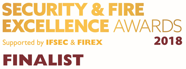 SIDOS UK Ltd - Security and Fire Excellence awards Finalists 2018